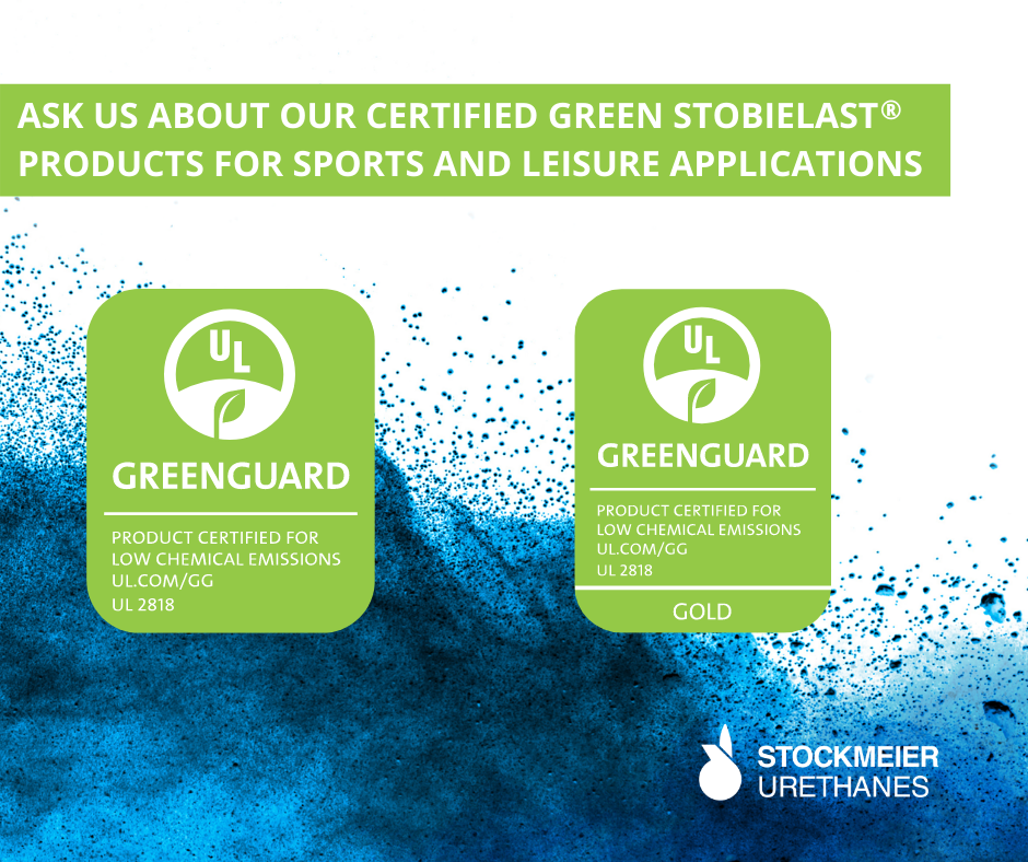 UL GREENGUARD and GREENGUARD GOLD Stobielast S Products